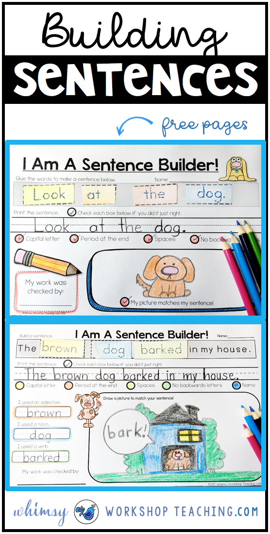 Sentences: Building and Self Editing | Kind