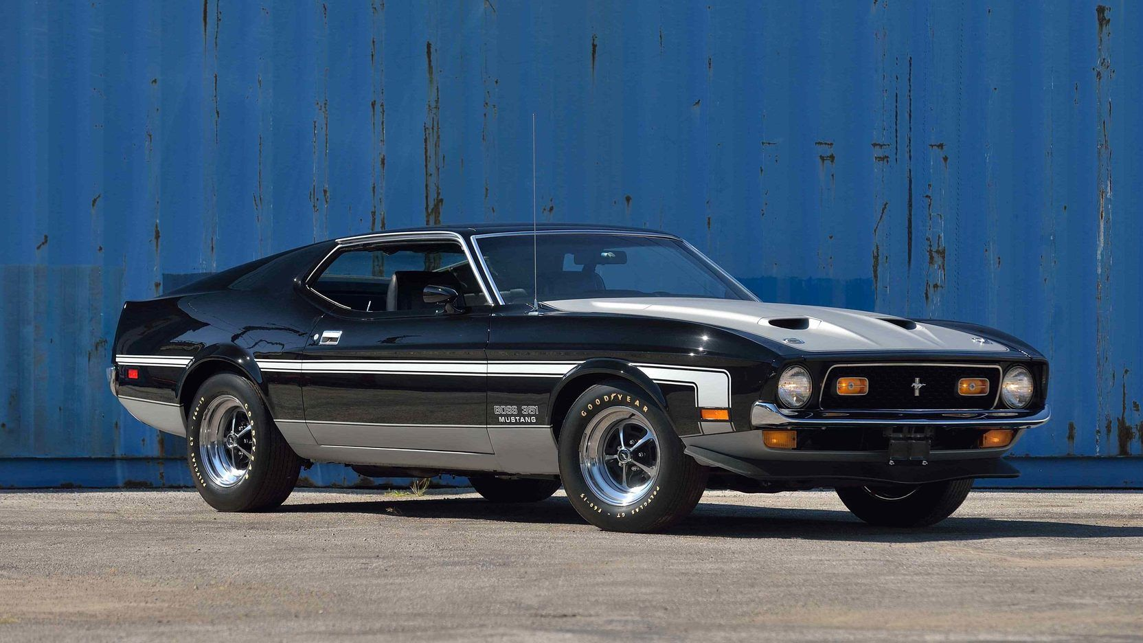 1971 Ford Mustang Boss 351 Fastback 1971 Ford Mustang Ford Mustang Boss Mustang Boss