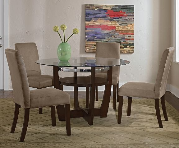American Signature Furniture   Alcove Beige Dining Room Collection Table  $279.99