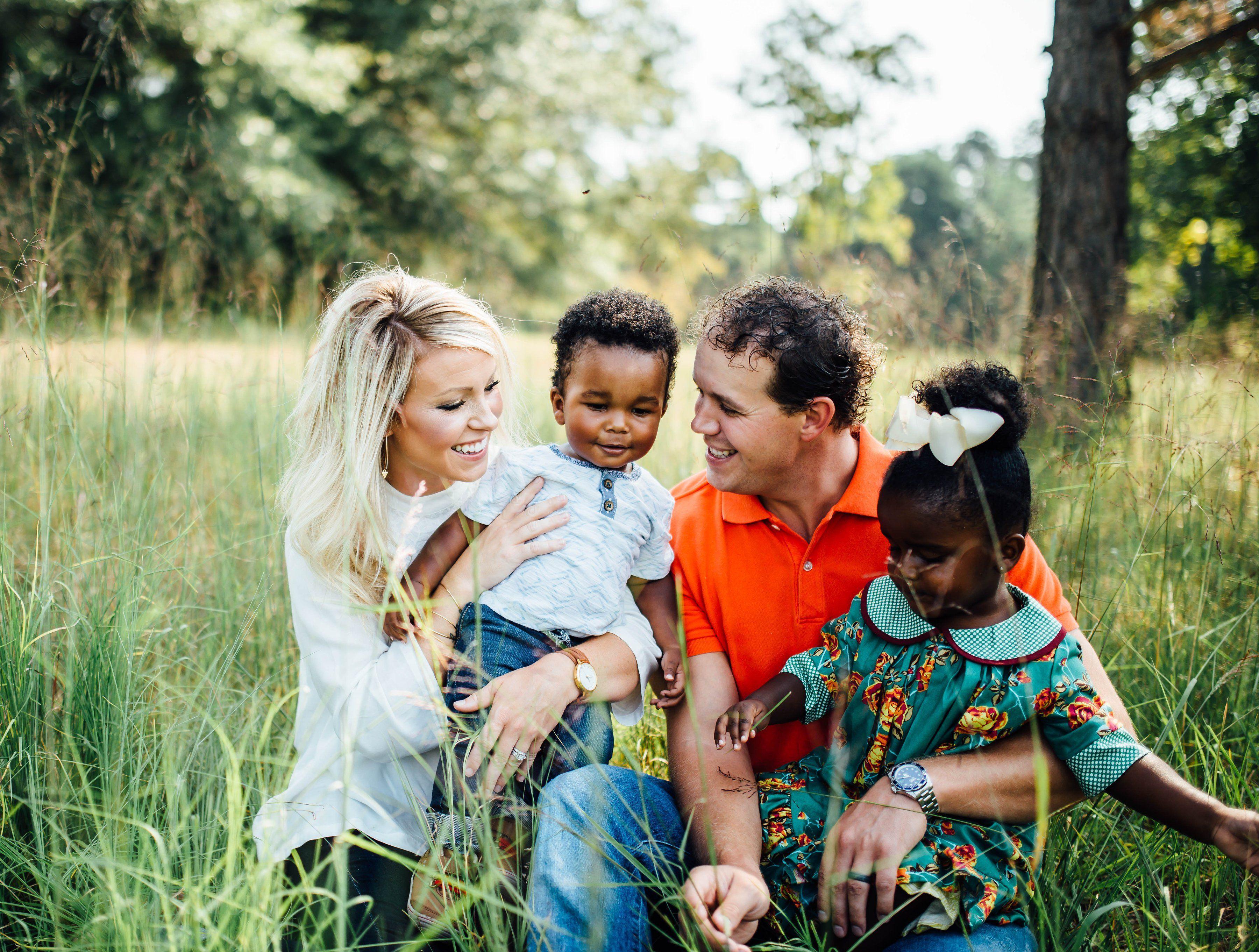 Adoption Month When Love Built My Family  Blonde hair girl Trendy