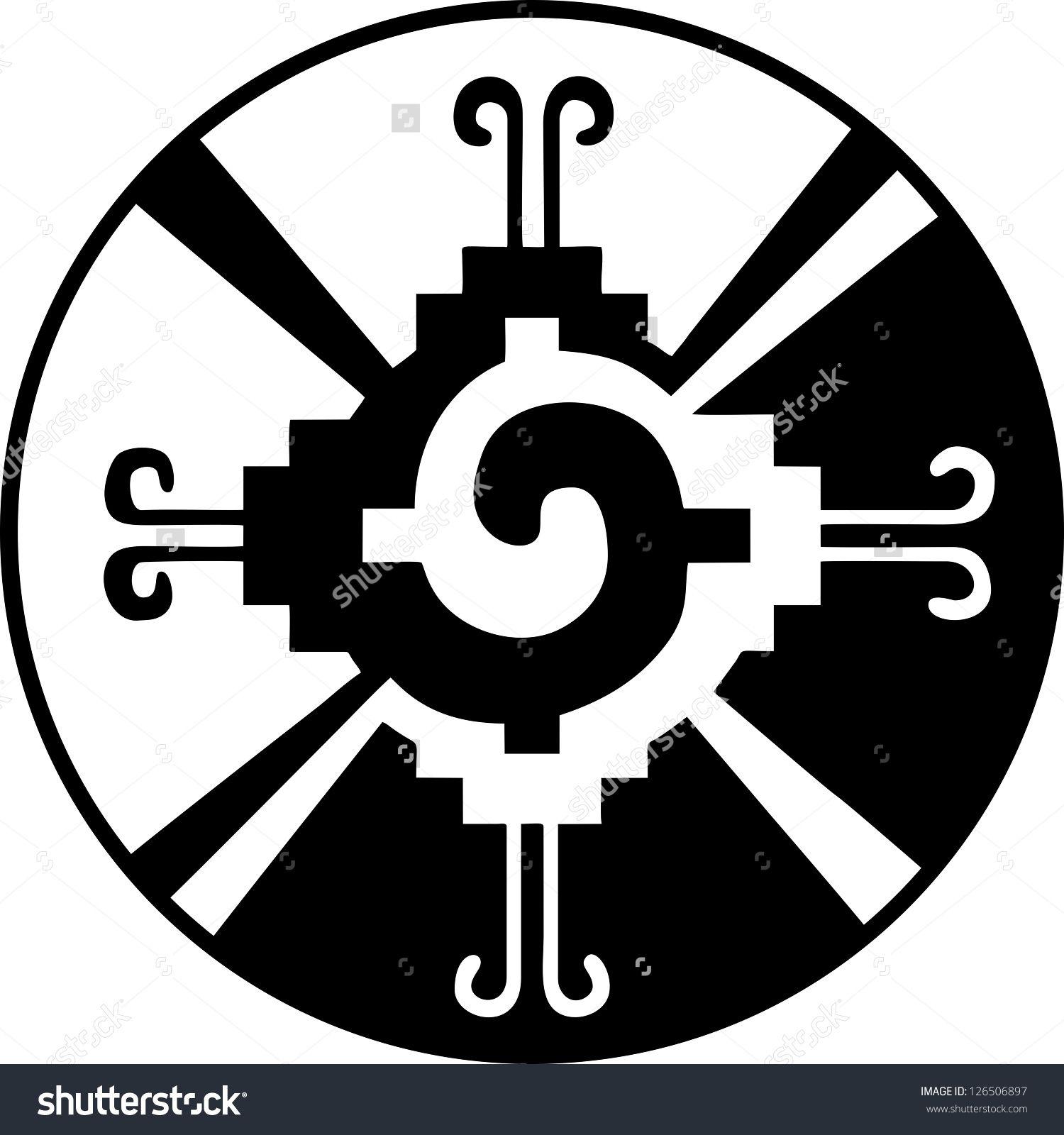 Hunab Ku -Heart of the Galaxy - Mayan symbol for God ...