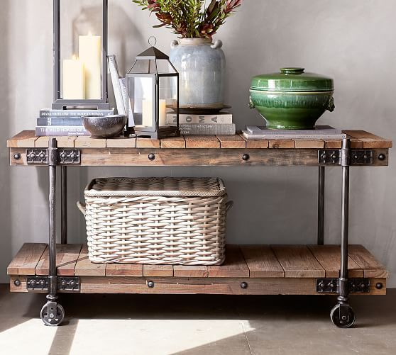 Williams Reclaimed Wood Media Console In 2019 Bloomfield