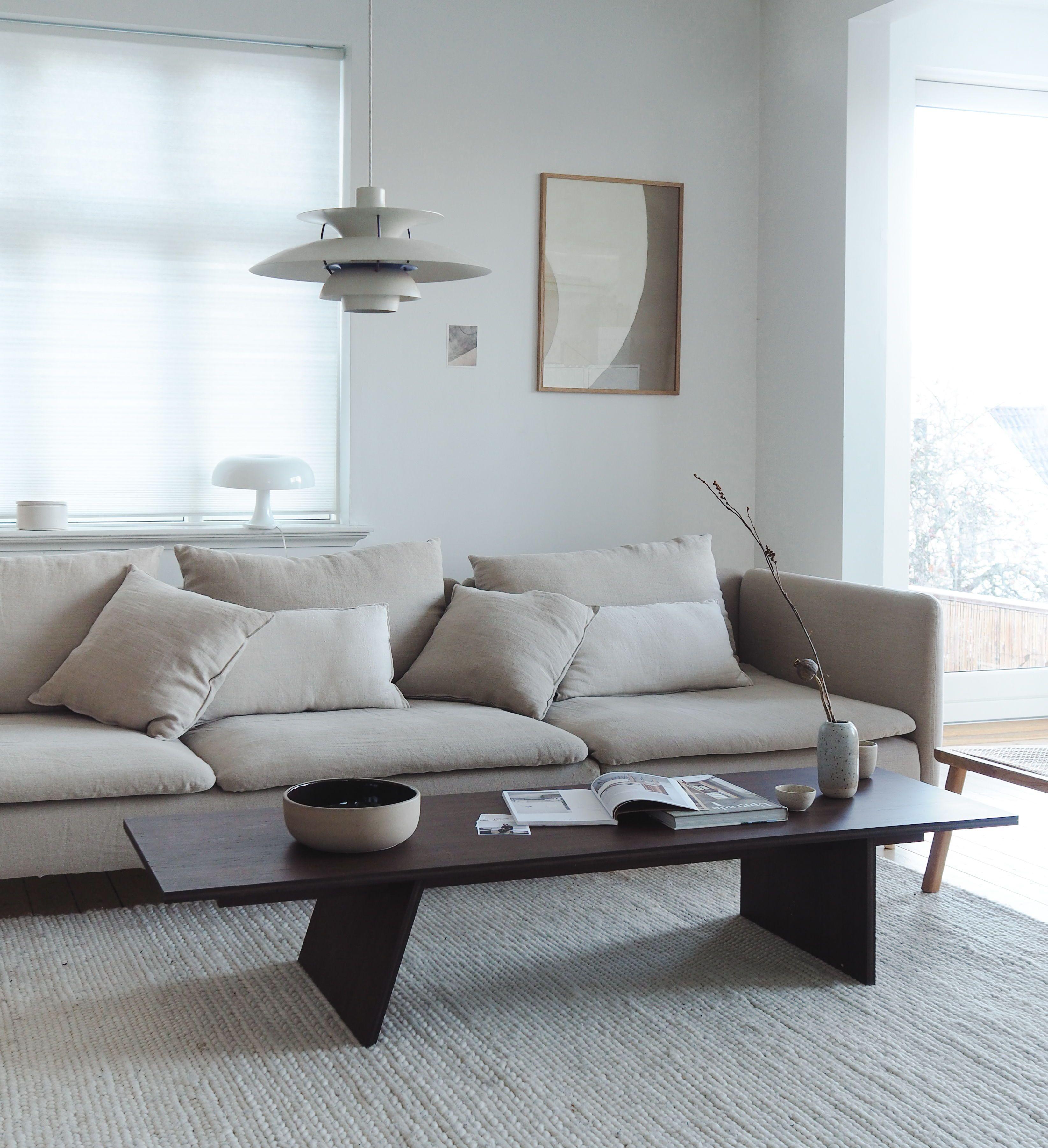 Bemz Pebble Linen Cover For Ikea Soderhamn In 2020 Living Room Scandinavian Living Room Remodel Home Decor