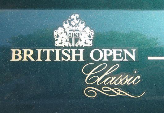 mini british open classic Onze tweede mini