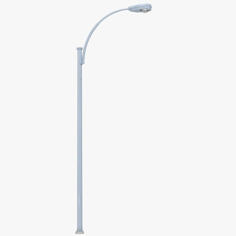 Street Lamp 2 3d Model Ad Street Lamp Model Street Lamp Lamp Street Light