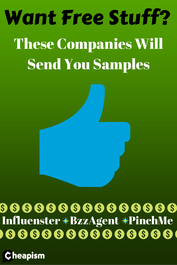 Free samples sent right to your door! All you have to do is try them