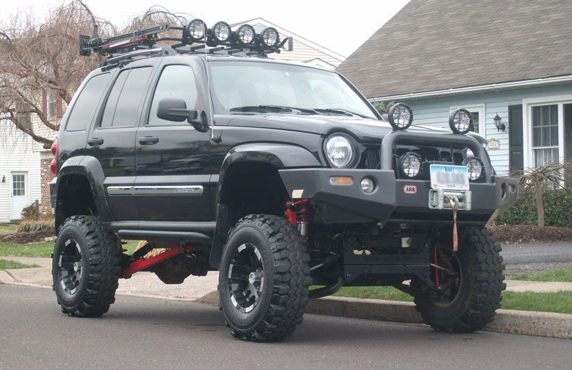Jeep Liberty Lift Kit Kk This Is What My Jeep Would Look Like If