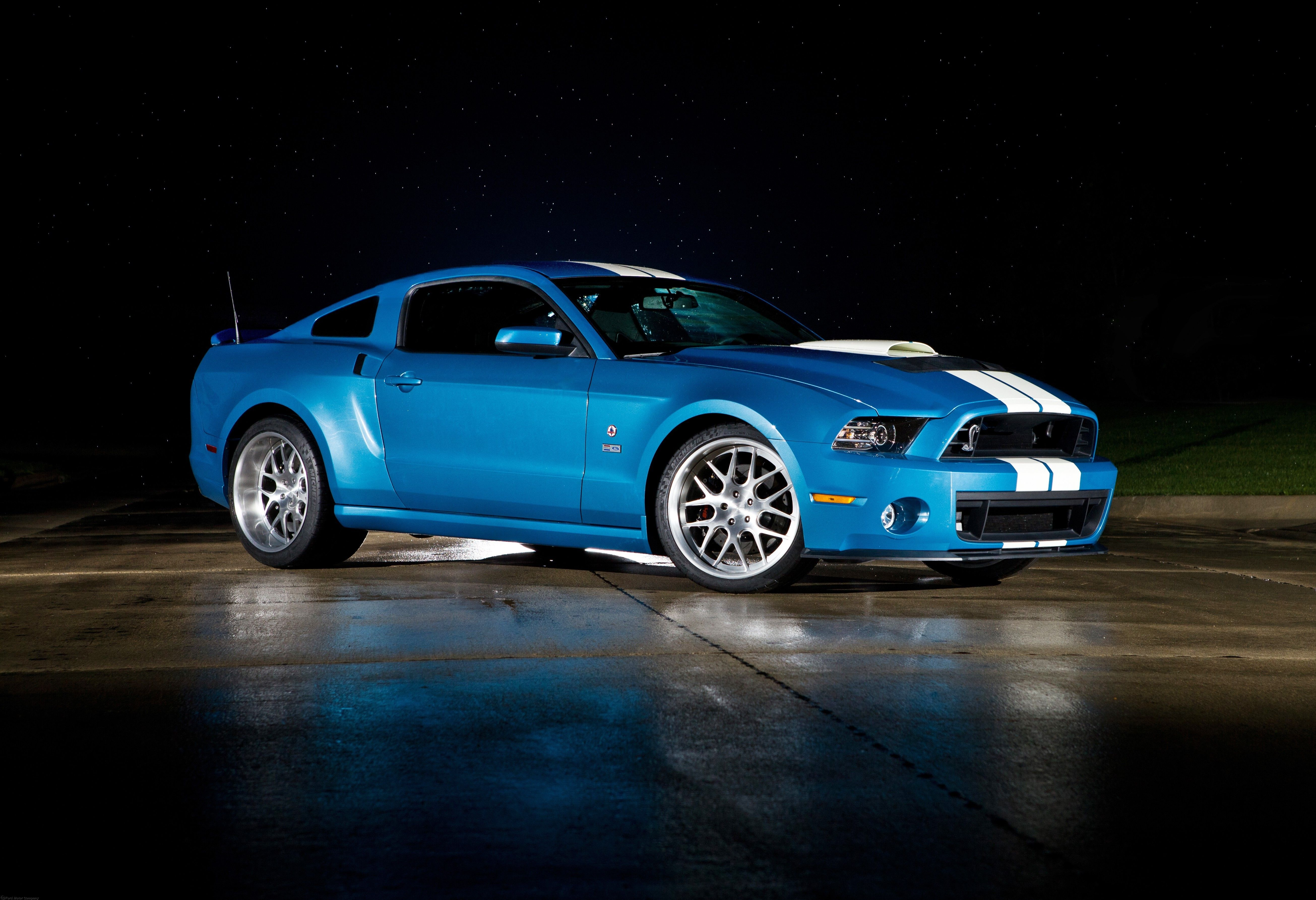 Shelby American Racing Special Edition GT 500 Ford Mustang Vinyl Decal Sticker