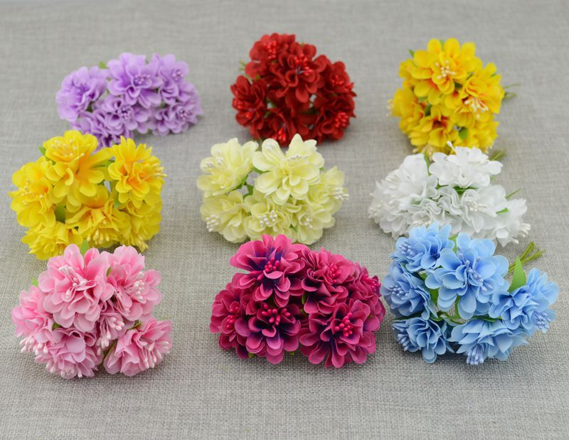 Find More Artificial Dried Flowers Information About 6pcs Silk Carnations Stamen Decoration Cheap Art Cheap Artificial Flowers Fake Flowers Carnation Wedding