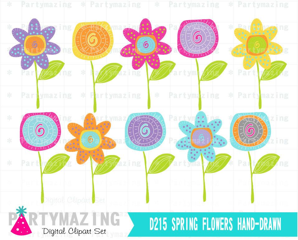 Printable gift table sign elephant baby shower favor sign blue and new from partymazing on etsy spring flower clipart set hand drawn flower clipart set mightylinksfo