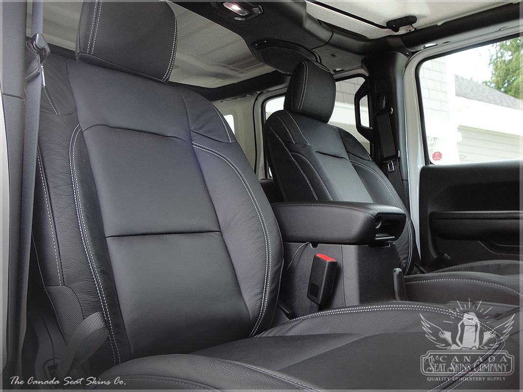 2018 2020 Jeep Wrangler Dealer Pak Leather Upholstery