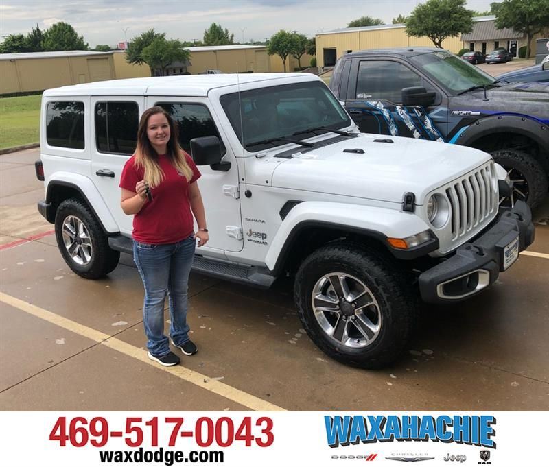 Happy Anniversary To Sara On Your Jeep Wrangler Unlimited From