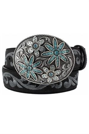"Garden Trail 1 1/2"" Black Belt 
