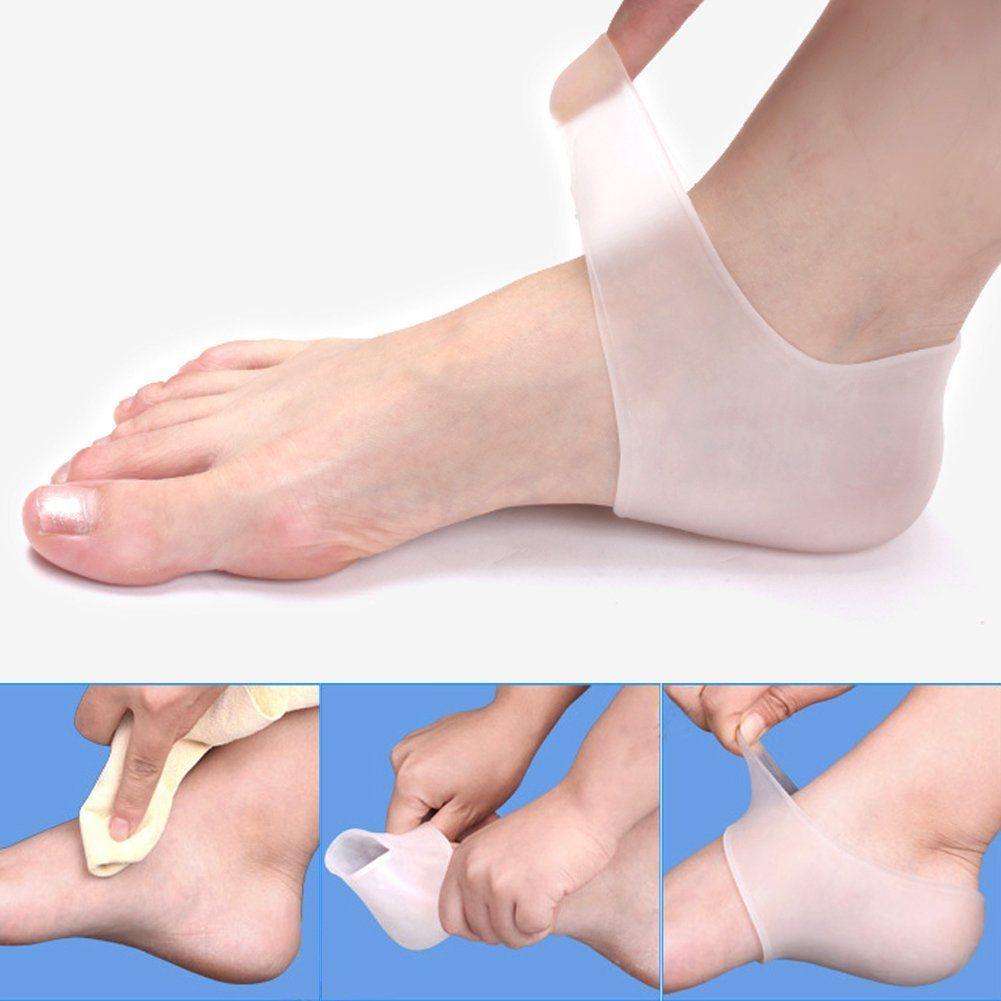 كعب سيليكون جل لراحة القدم Heeled Mules Heels Shoes