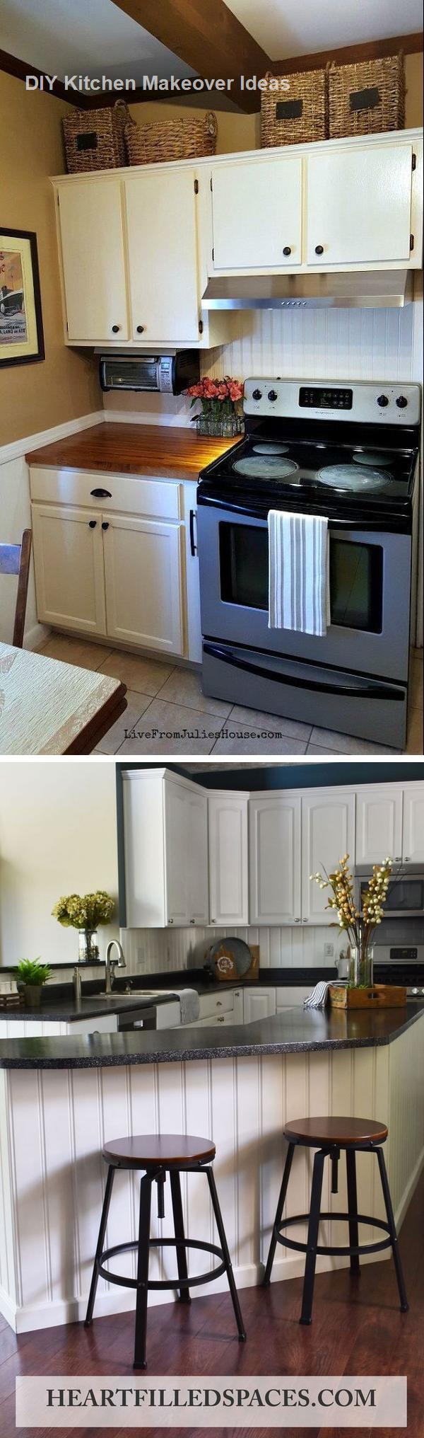 16 Awesome Ideas for Kitchen Makeovers #Kitchenmakeover # ...
