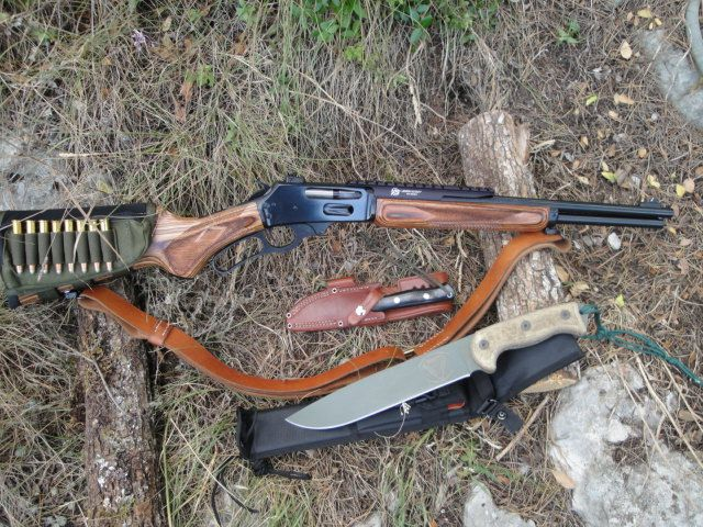 A Stock Marlin 336 30 30 With A Few Added Accessories Makes A