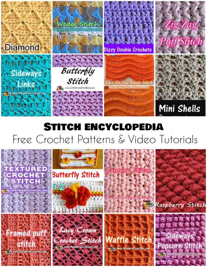 Stitch Encyclopedia Free Crochet Patterns And Video Tutorials