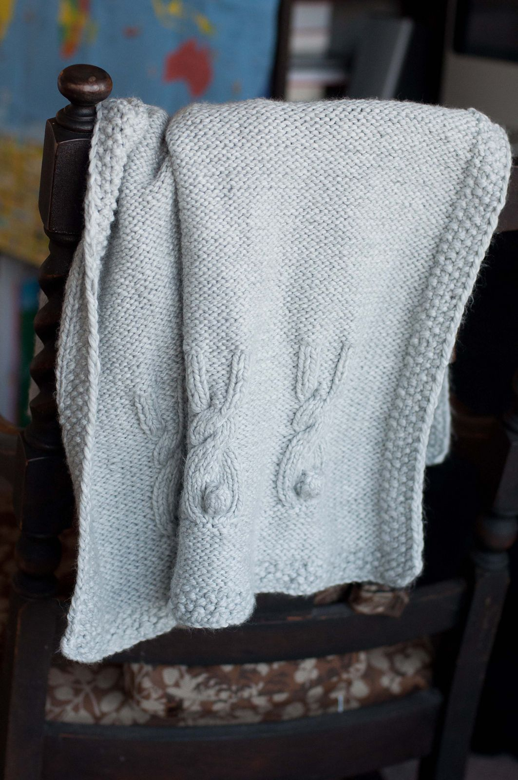 Ravelry: Heirloom Bunny Blanket pattern by Stacylynn Cottle