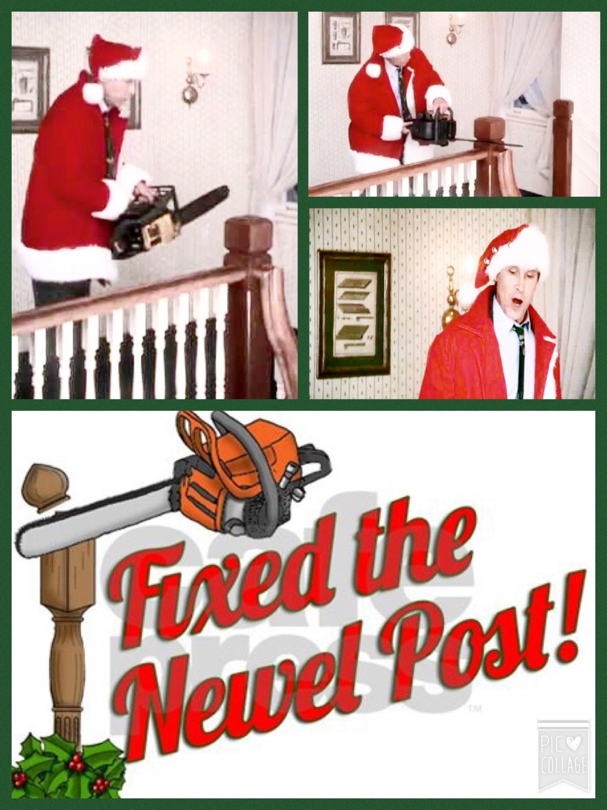 Best Christmas Vacation 1989 I Fixed The Newel Post 400 x 300