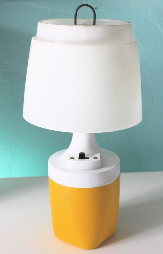 Rayovac Camping Table Lamp Lantern Light By Thepastisnow On Etsy Camping Lamp 22 50 Camping Lamp Lamp Table Lamp