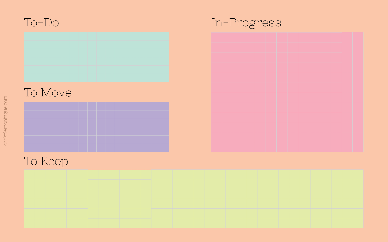 Wall Paper Organizer freebie: desktop organizer wallpaper | ideas.. | pinterest
