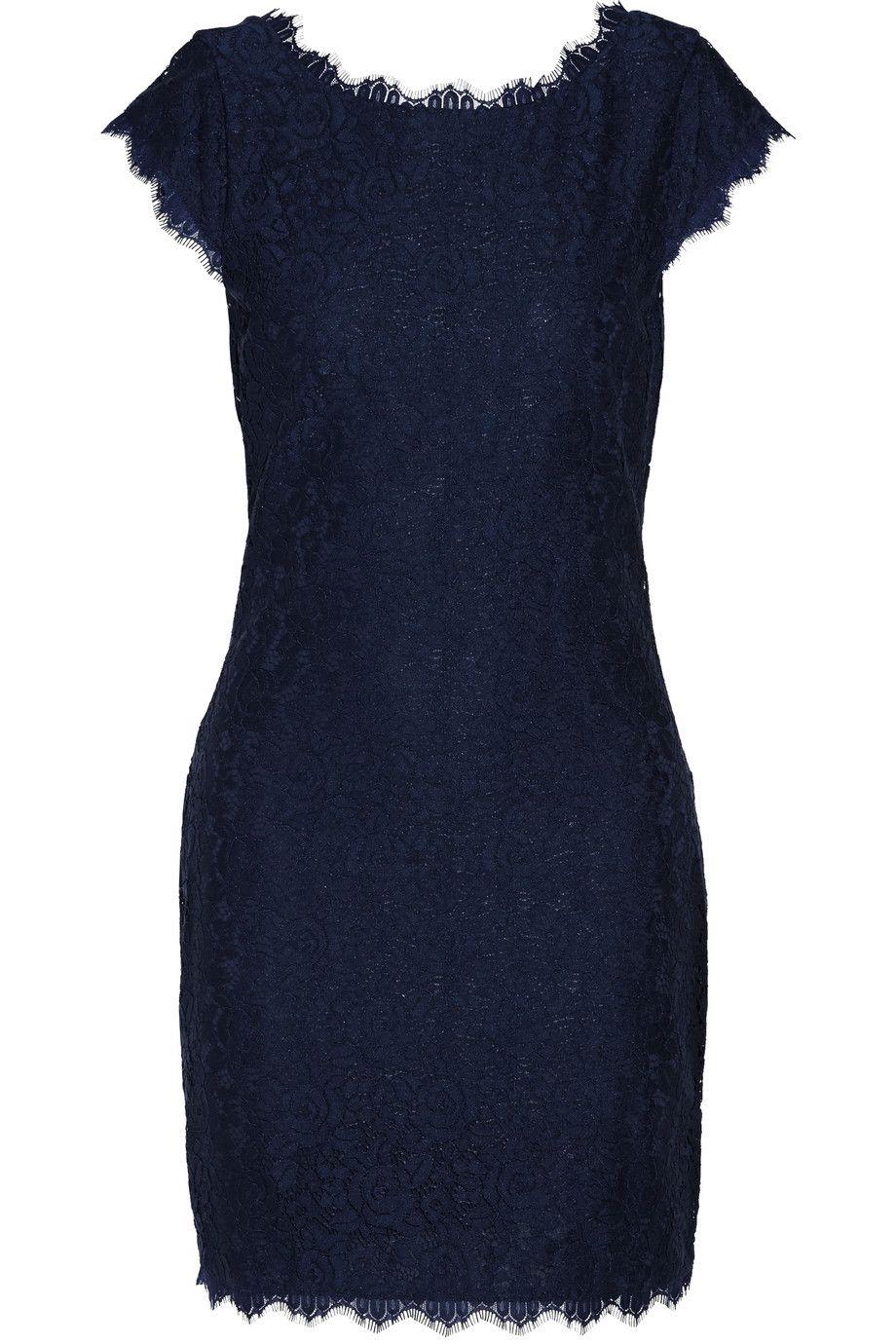 DIANE VON FURSTENBERG Barbara lace mini dress. #dianevonfurstenberg #cloth #dress