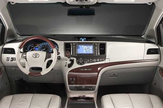 2016 Toyota Sienna interiors Cars Pinterest