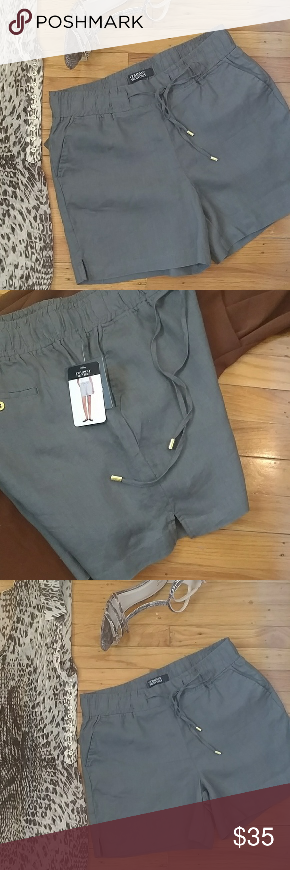 Ellen tracy dress shorts ellen tracy dress shorts front side slits