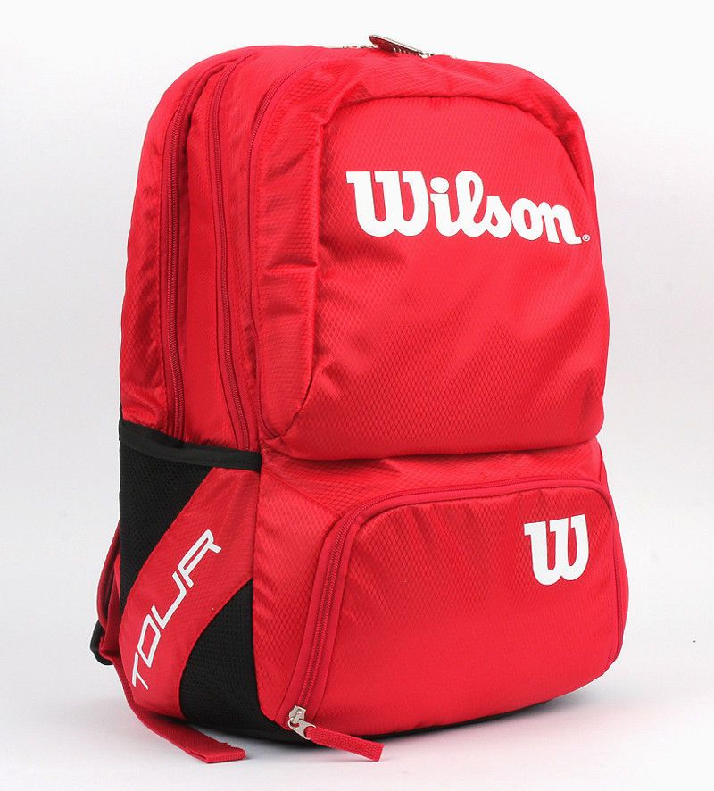 Wilson 2016 Tour V Racquet Backpack Tennis Badminton Bag Medium Red Wrz843695 Wilson Badminton Bag Bags Medium Bags