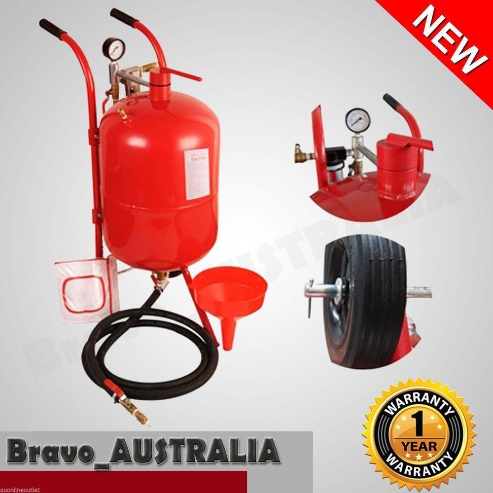 38l portable air pressure abrasive sandblaster sand