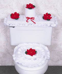 1000 Images About Bathroom Sets On Pinterest Free Pattern Christmas Bathroom And