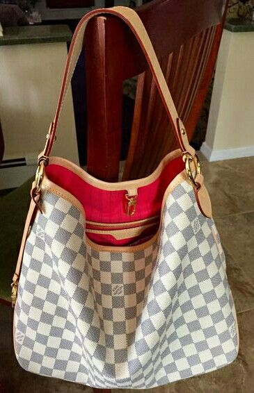 37bb463dedac Louis vuitton delightful damier azur