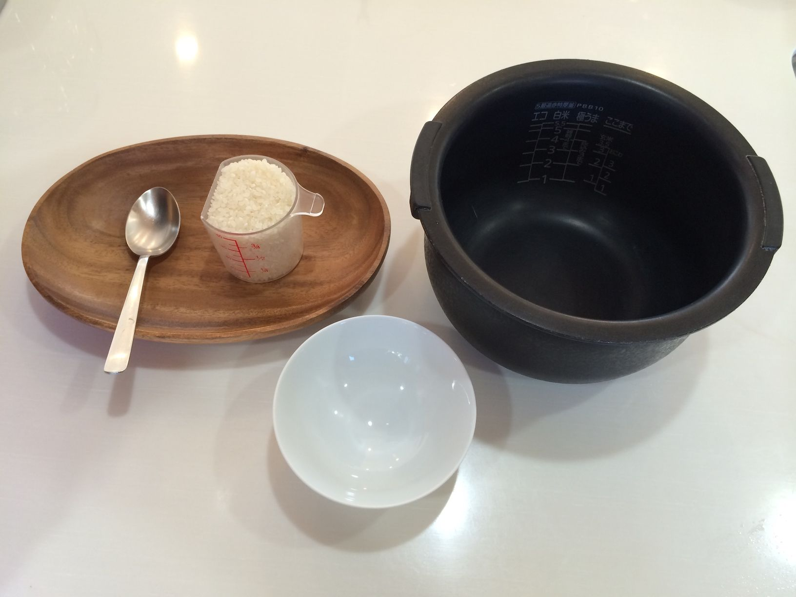 okayu in rice cooker plus cooking okayu for baby at the same time