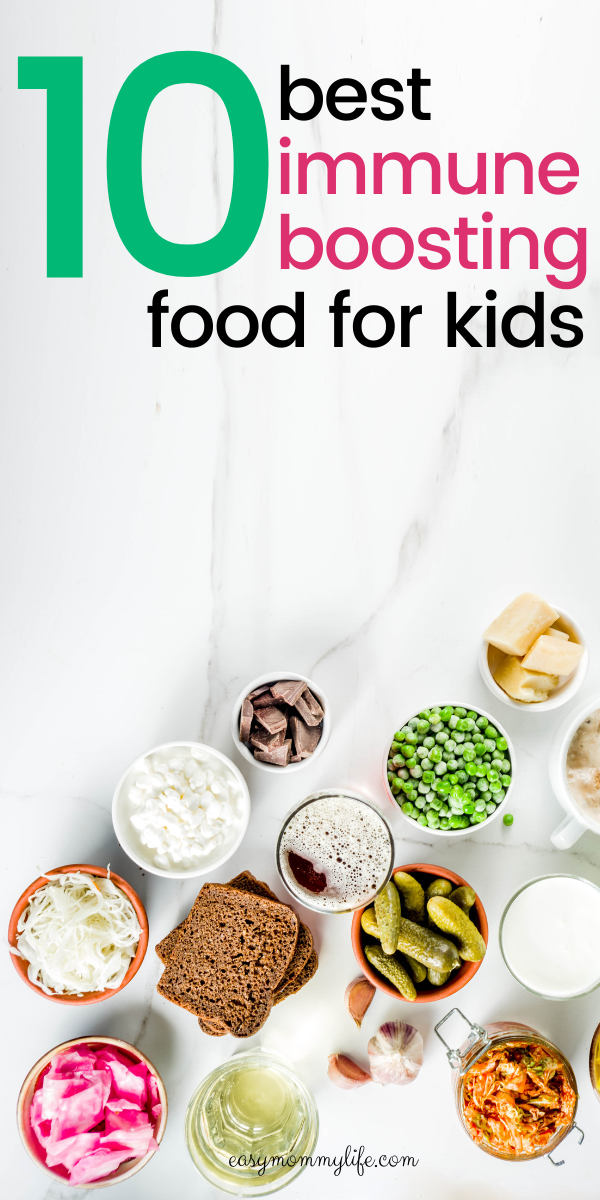 10 Power Packed Immune Boosting Foods For Kids in 2020