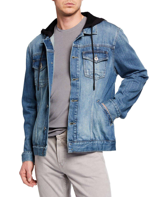 PAIGE Mens Scout Denim Jacket