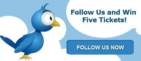 Follow Euromillions on Twitter