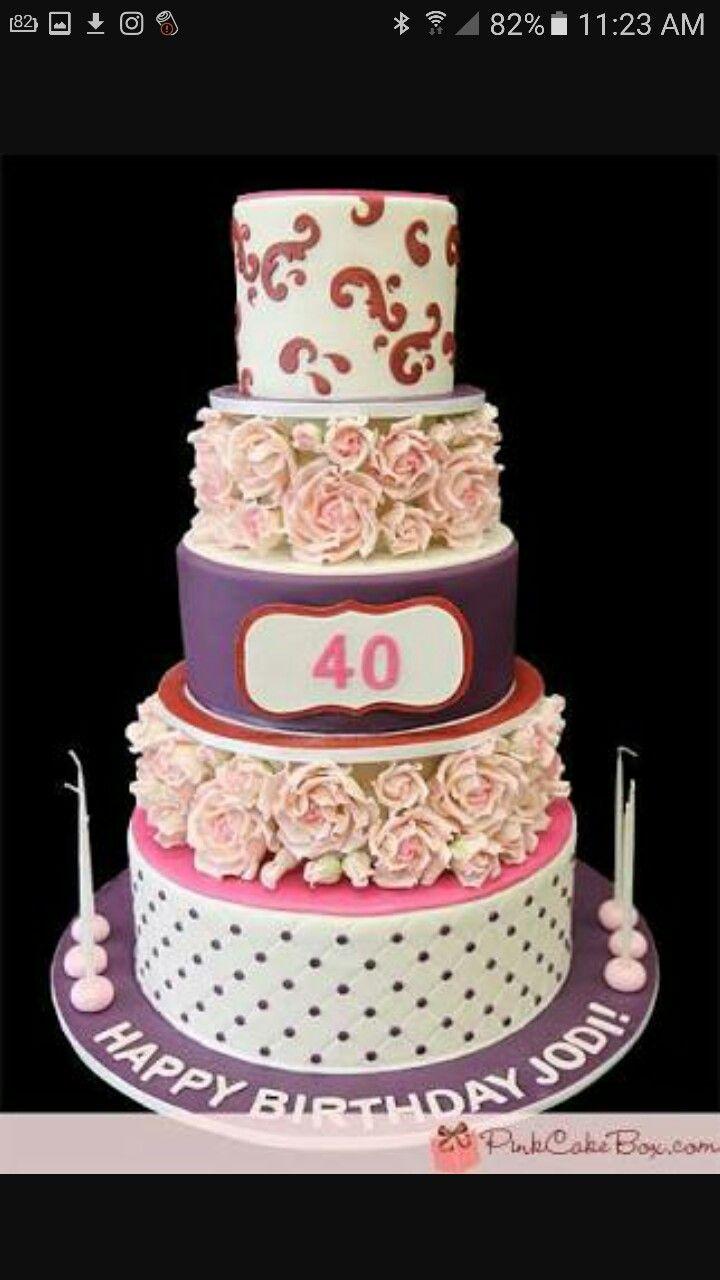 Geburtstag, Schöne Kuchen, Tolle Kuchen, Hübsche Kuchen, Schöne Dinge, Rosa  Kuchen, Gebäck
