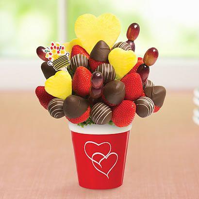 edible arrangements - love bouquet dipped strawberries | hearts, Ideas