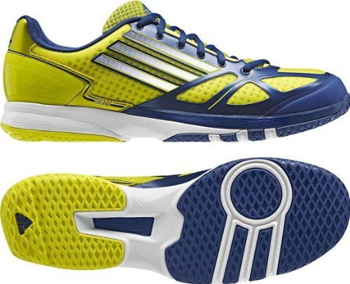 Adidas Adizero Prime yellow blue | Adidas Squash Shoes