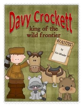 This Davy Crockett mini-unit introduces the life and background of the legend. Through a brief biography, felt board activity, sequence cards, and research questions, students will learn what Davys life was like on the wild frontier. Copyright  2015 The Educated Mouse.