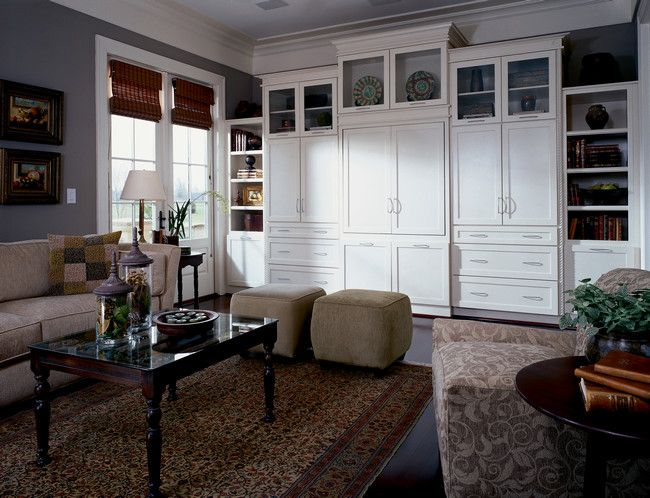 Great Family Room Luxe Transitional Photo 63