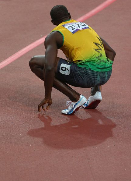In This Photo: Usain Bolt  Usain Bolt of Jamaica looks on after competing in the Men's 200m Semifinals on Day 12 of the London 2012 Olympic Games at Olympic Stadium on August 8, 2012 in London, England.  (August 7, 2012 - Source: Alexander Hassenstein/Getty Images Europe) - http://www.PaulFDavis.com/success-speaker (info@PaulFDavis.com)