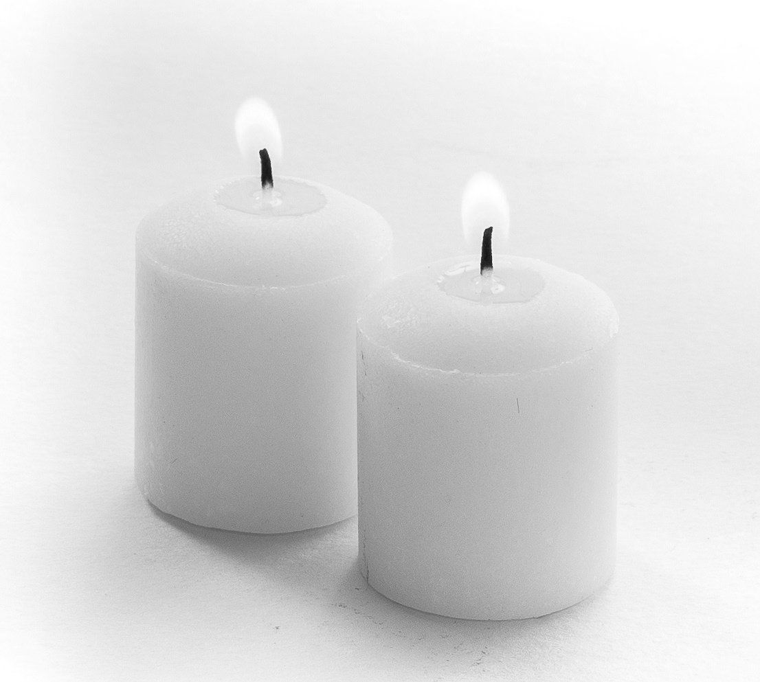 Votive candles pack unscented white smokeless ud x uh for