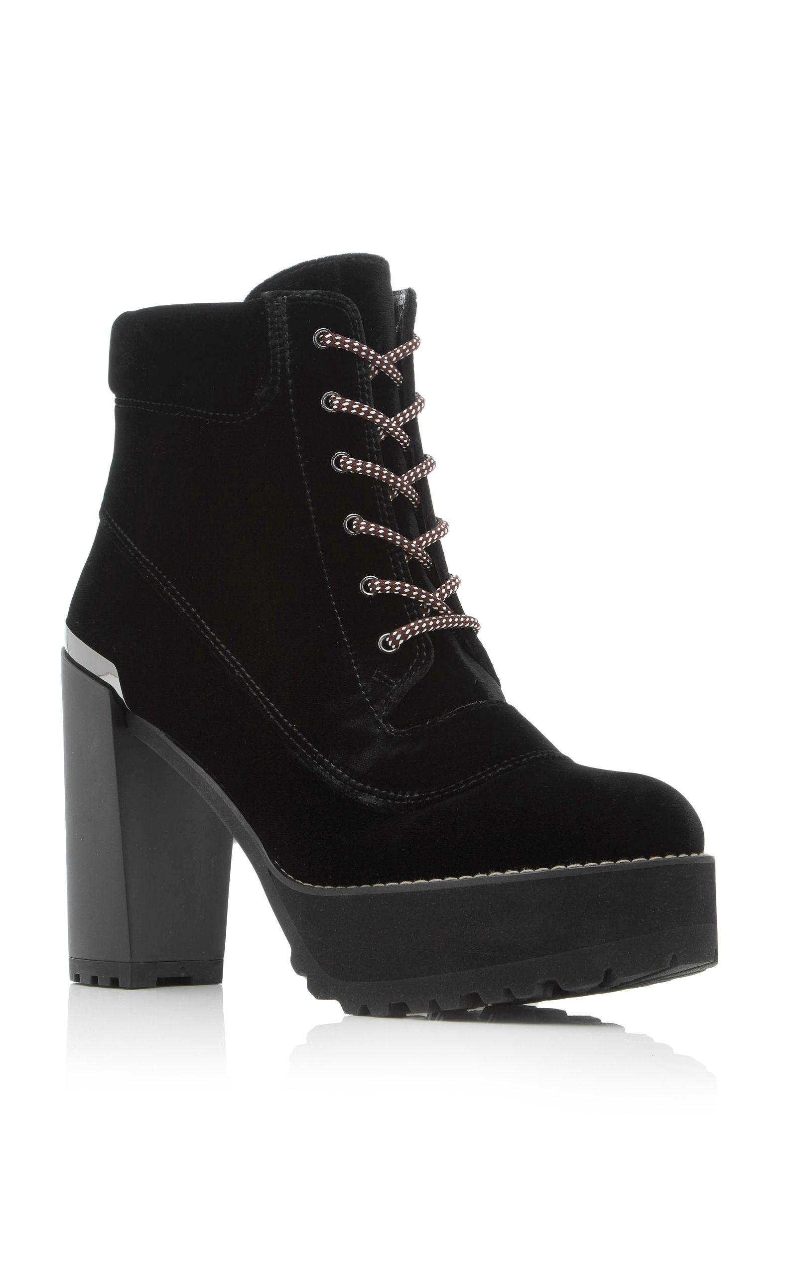 Stuart Weitzman Velvet Ankle Boots 0Rg7wFHdom
