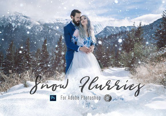 Snow Snow Flurry Ps Overlays 20 By Lou Marks On