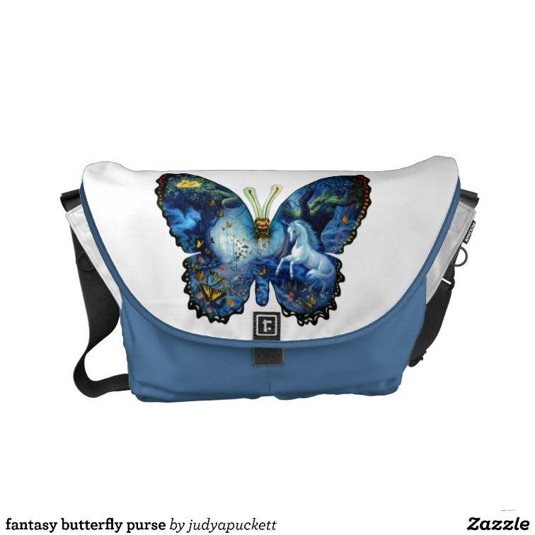 fantasy butterfly purse