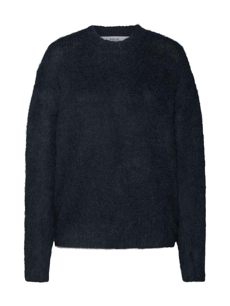 REPLAY Pullover 'Masche' Damen, Schwarz, Größe XL in 2020
