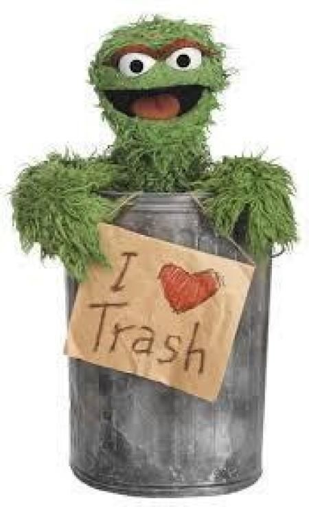Trash Can Punch Sesame Street Oscar The Grouch Sesame Street Characters