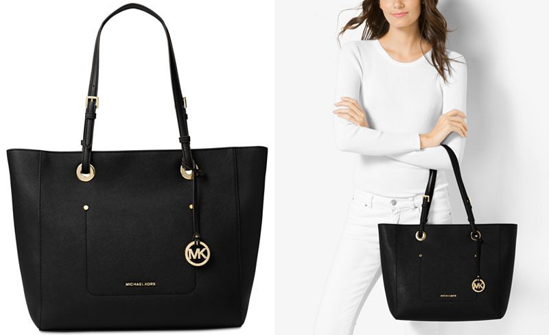 01b69c7dd99f76 MICHAEL Michael Kors Walsh Large East West Top-Zip Tote - Work Bags -  Handbags & Accessories - Macy's