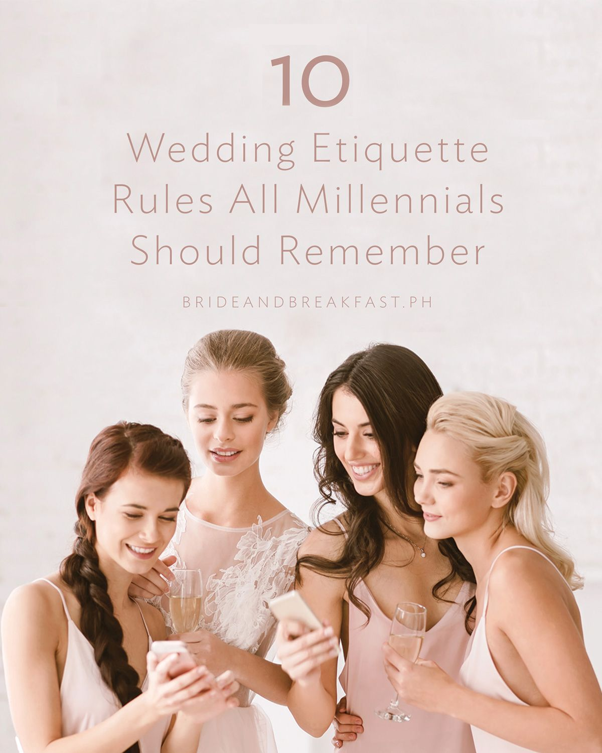 10 Wedding Etiquette Rules All Millennials Should Remember